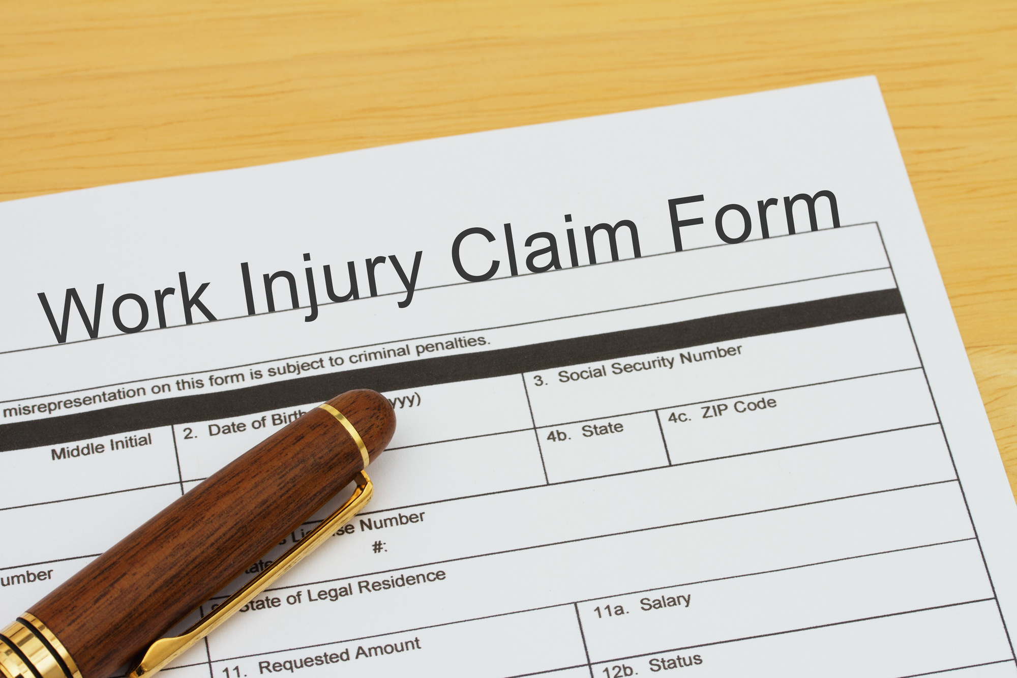 denied workers comp